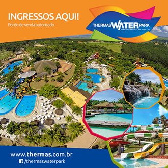 Ponto de Venda Autorizado para ingressos do Thermas Water Park
